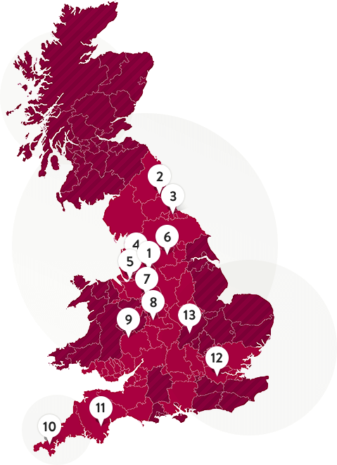 Find your nearest LWC depot location