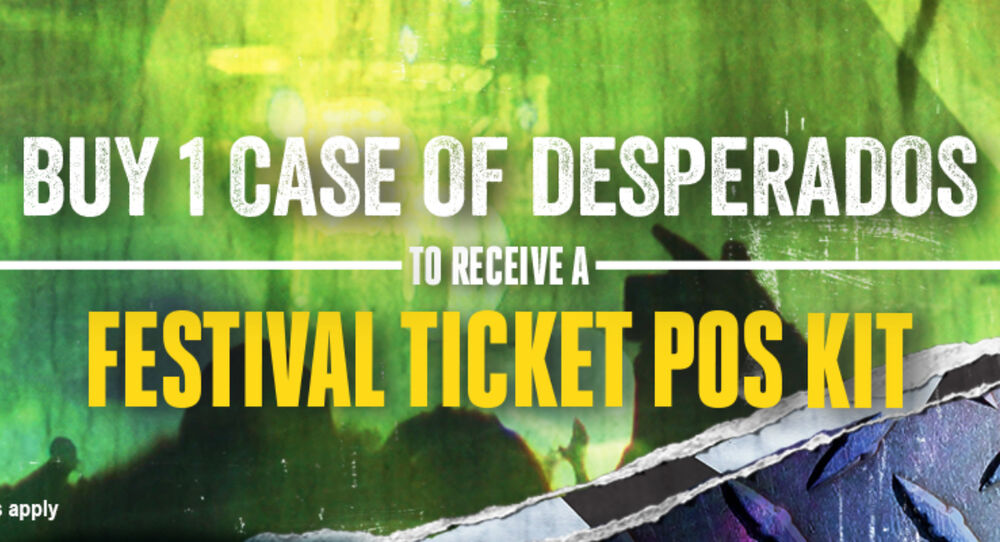 Take Part in LWC's Exclusive Digital Activation Campaign from Desperados!