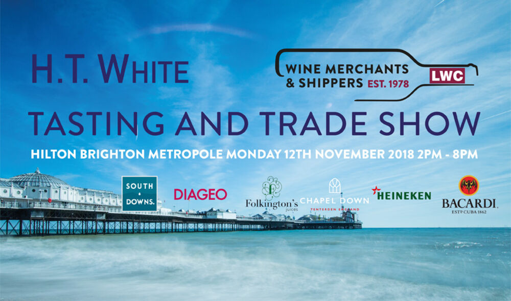 You're Invited! H.T White Tasting & Trade Show