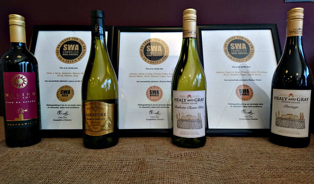 Success for LWC Wines at Prestigious Sommelier Wine Awards 2017
