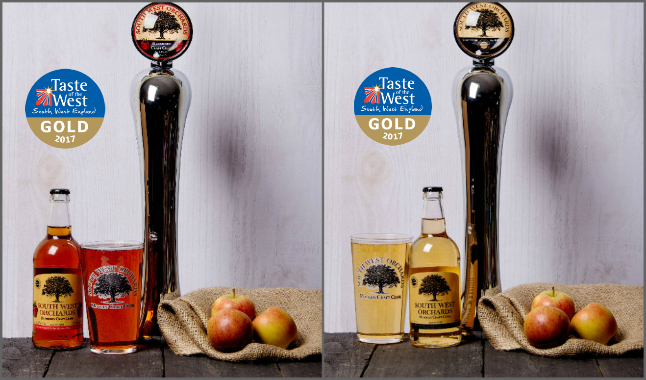 South West Orchards Ciders Win Gold at Taste of the West Awards!